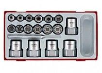 Sekskantuttrekkersett Teng Tools TTBE18
