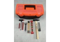 Verktøyskasse med 29 verktøy Hero Tools