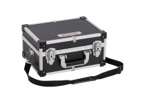 Aluminiums kuffert sort 320x230x160 mm