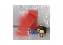 Beskyttelse overdækning 0,1 mm 2x6 m