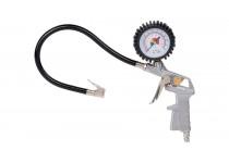 Trykluft pumpepistol med manometer