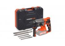 POWDP1570 Borhammer 40 Volt med 5 deler  Powerplus