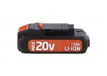 Batteri 20 Volt LI-ION, til DUAL POWER