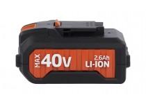 Batteri 40 Volt LI-ION, til DUAL POWER