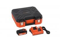 Oplader 20 V og 40 V + Batteri 20 V