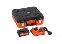 Oplader 20 V og 40 V + Batteri 40 V