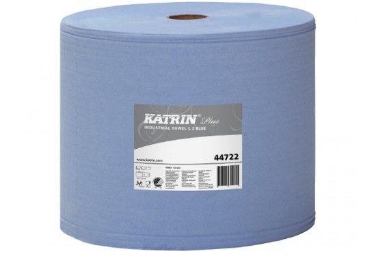 Aftørringspapir Katrin Plus Blå 447226 - 2 stk