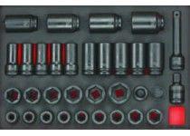 Krafttopsæt eva 33 delar