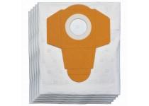 Støvpose 40 l i plast for våt / tørr støvsuger (5 stk.)