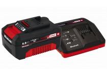 Power X-change startsett med lader og batteri 18 V 4,0 Ah P-X-C