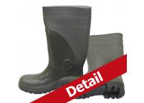 Støvle PVC OS m/sikkerhed grøn