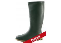 Støvle PVC OS u/sikkerhed grøn