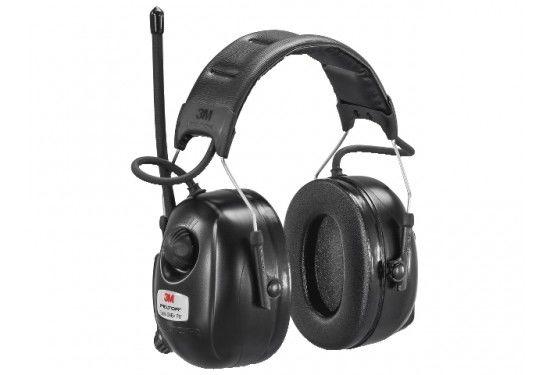 3M Peltor hørselvern med innebygd DAB+ og FM mottaker