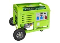 ZI-STE8004 strømaggragat 2x230V/1x400V Zipper