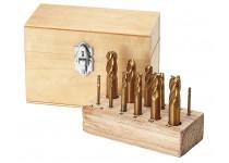 Combi milling box, TiN-coated, 12 pcs.