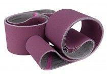 Fabric sanding belt 1220 x 100 mm - grit 100 (10 pcs.)