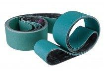 Fabric sanding belt 2000 x 100 mm - grit 100 (10 pcs.)