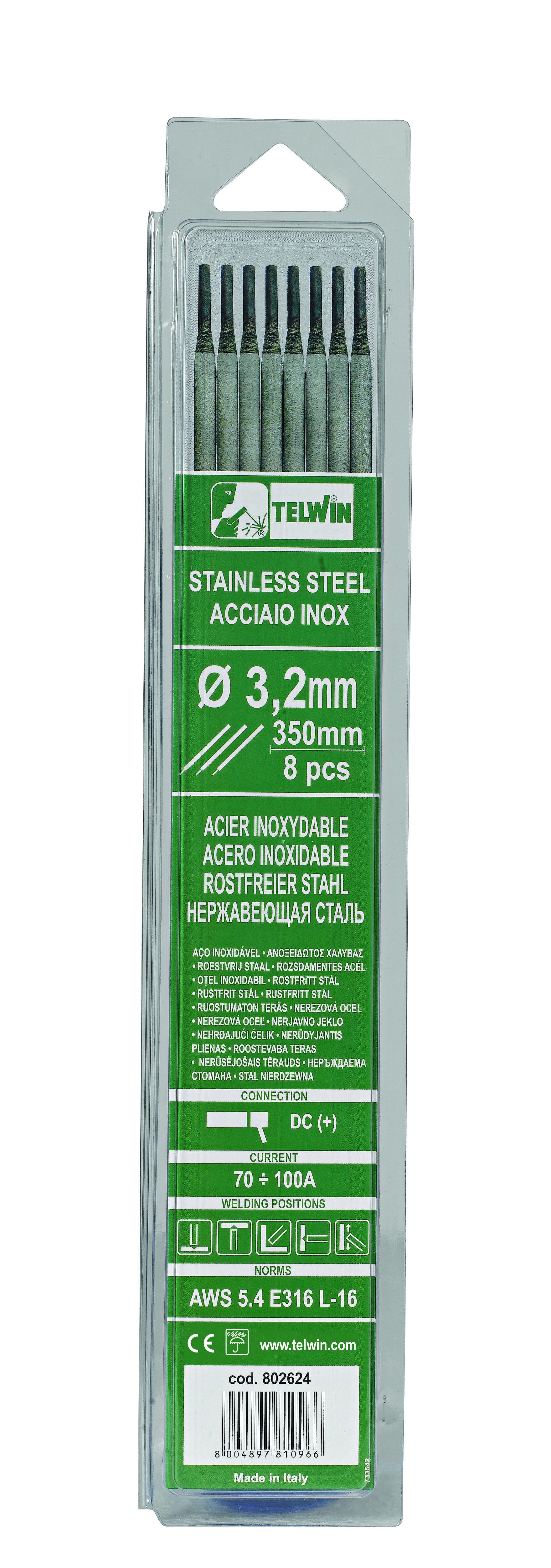 Hero-Tools Rutile rustfri elektroder Ø 2,5 x 300 mm