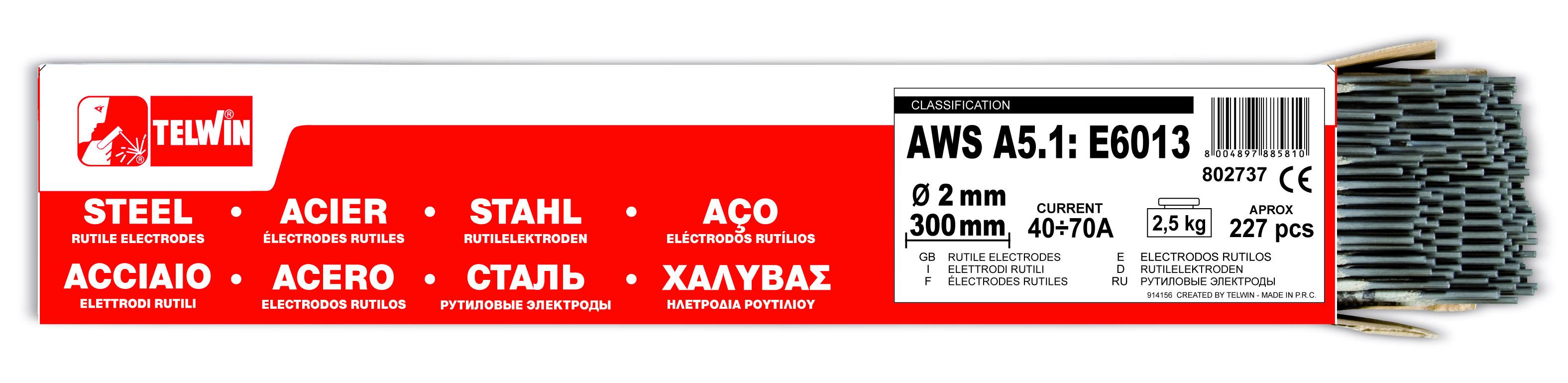 Hero-Tools Rutile elektroder Ø 2,0 x 300 mm 227 stk