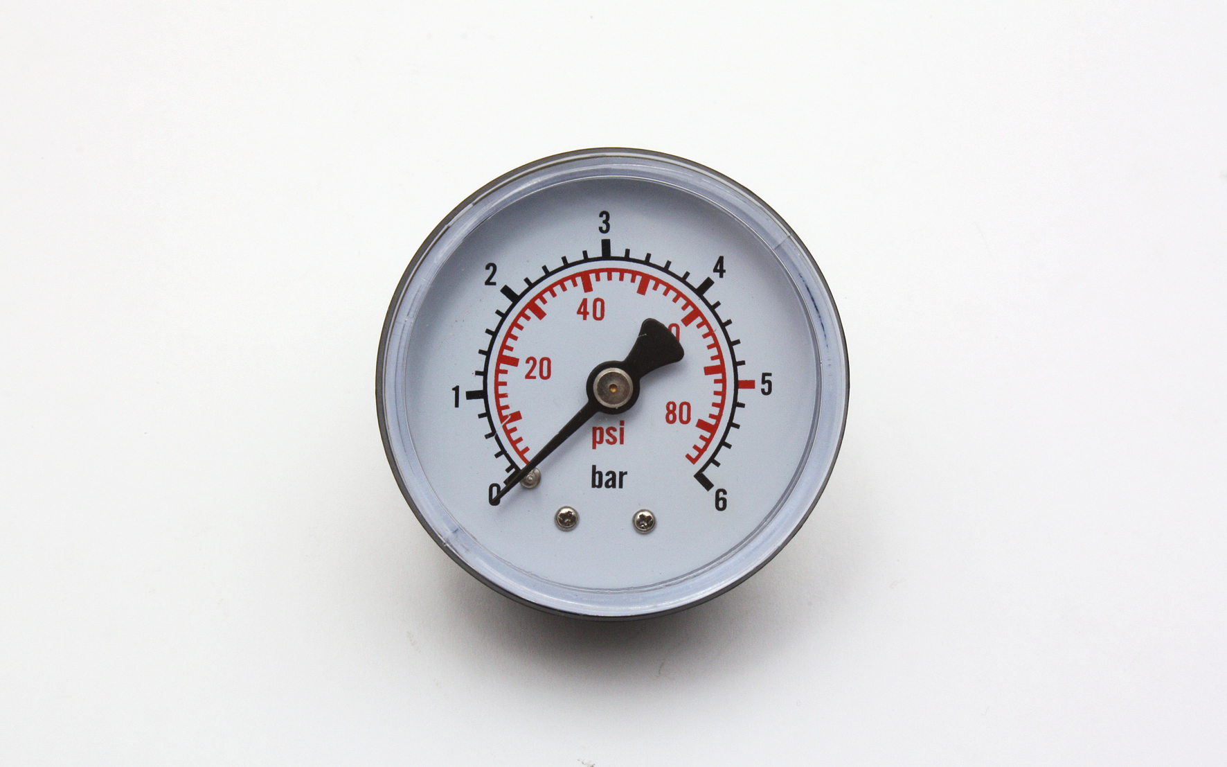 Bilde av 0-6 Bar, ø53 Mm Manometer