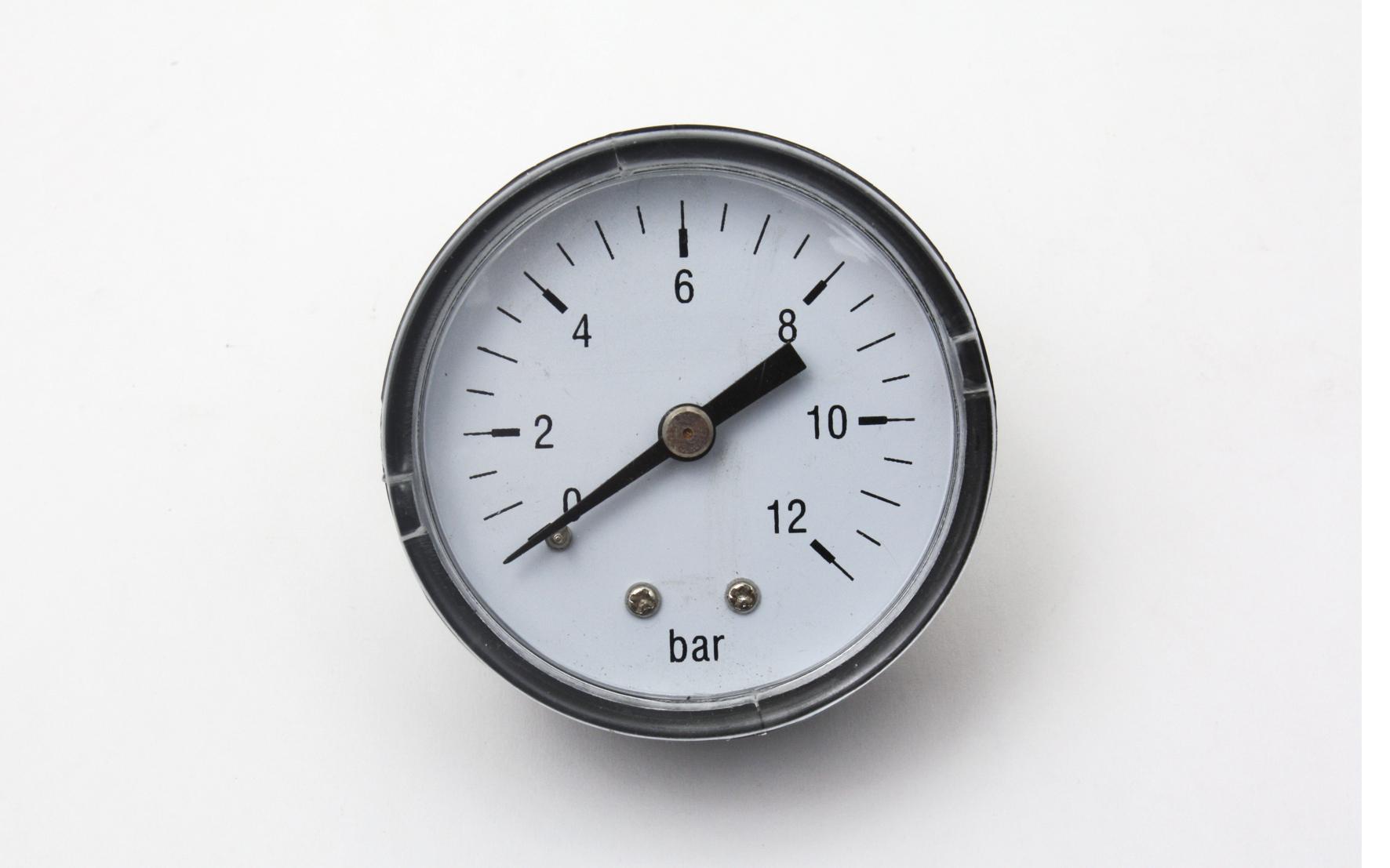 Bilde av 0-10 Bar, ø40 Mm Manometer