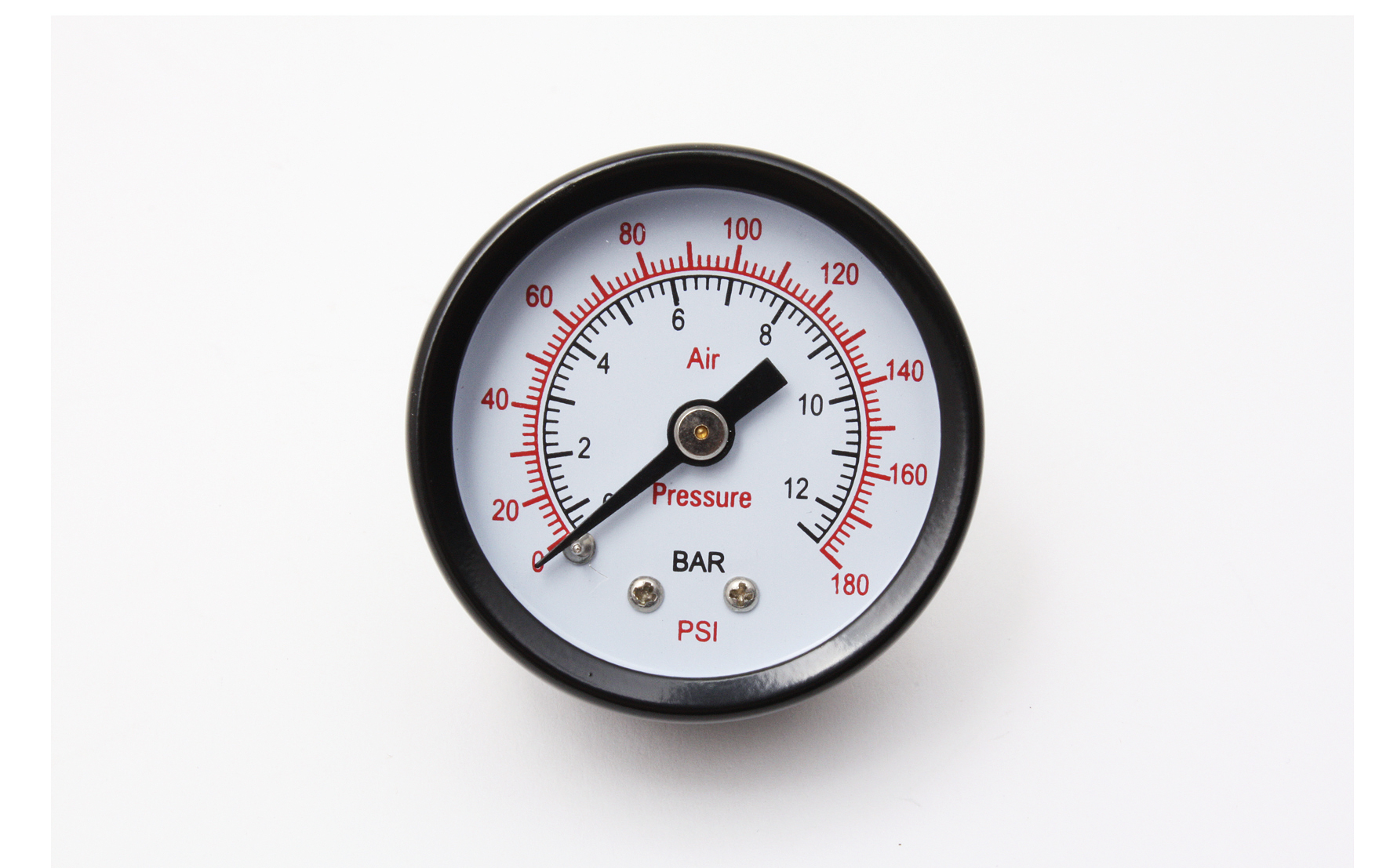 Bilde av 0-12 Bar Manometer, ø40 Mm